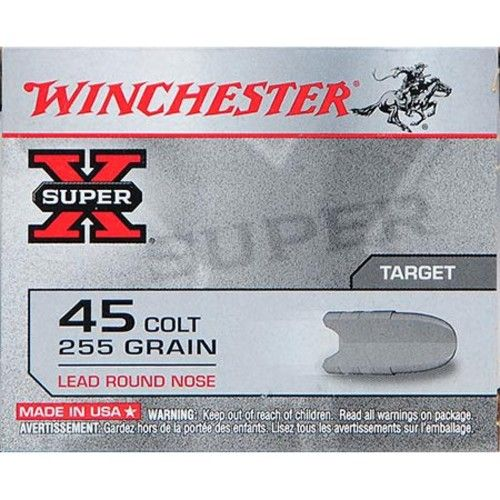 Winchester Super-X Handgun .45 Colt 255 gr. LRN