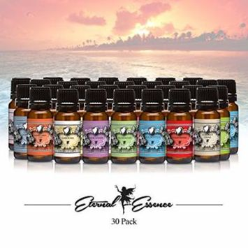 Premium Grade Fragrance Oil - Complete Essence of Fragrance Gift Set - Sun & Sand, Bahama Berry, Frankinsence, Jasmine, Pear Fantasy, Lemon Blossom, Coconut, Sweat Pea, Ylang Ylang, Plumeria, Acai Ber