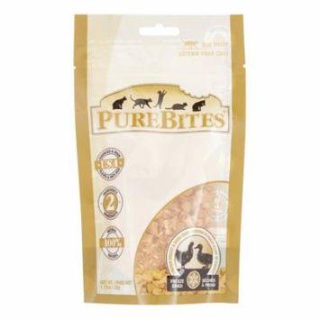 PureBites Chicken Breast & Duck Recipe Limited Ingredient Grain-Free Freeze Dried Cat Treat, 1.12 Oz