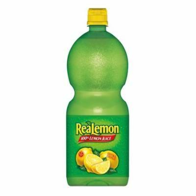 8 PACKS : Realemon 100% Lemon Juice, 48 oz