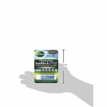 4 Pk Dr. Dans Chemical Free Sunblock SPF 30 Lip Moisturizer and Protection .14oz