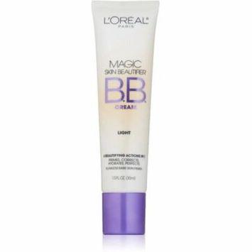 L'Oreal Paris Magic Skin Beautifier BB Cream, Light [812] 1 oz (Pack of 2)