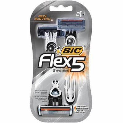 Bic Flex 5 Disposable Razors 2 ea (Pack of 6)