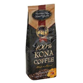 Hawaiian Isles 100% Kona Medium Roast Ground Coffee - 7oz