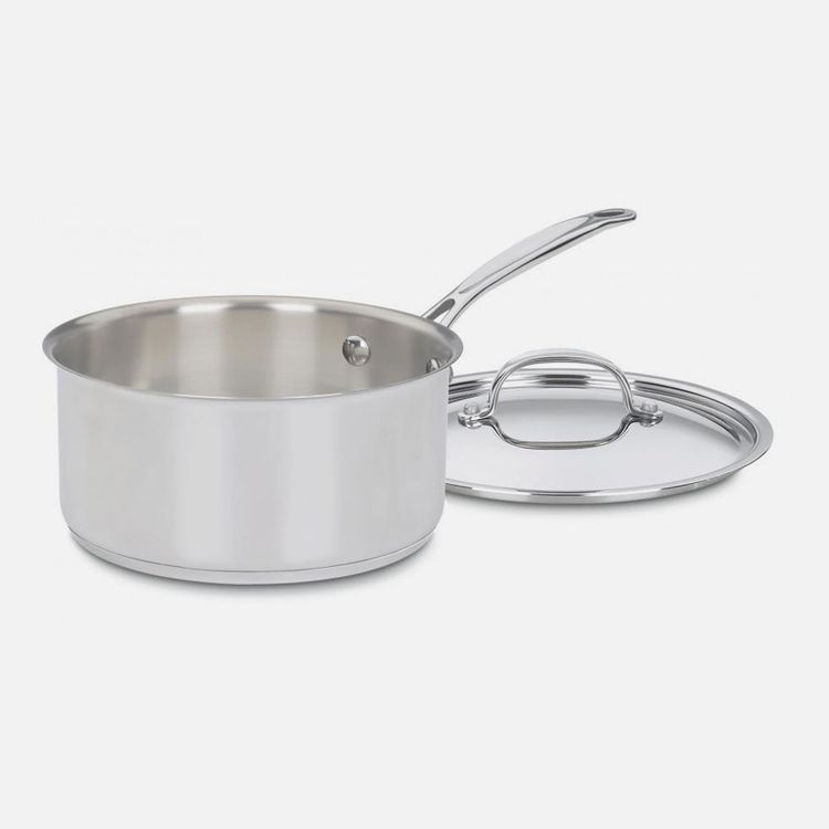 Cuisinart Chef's Classic™ Stainless 3 Quart Saucepan with Cover