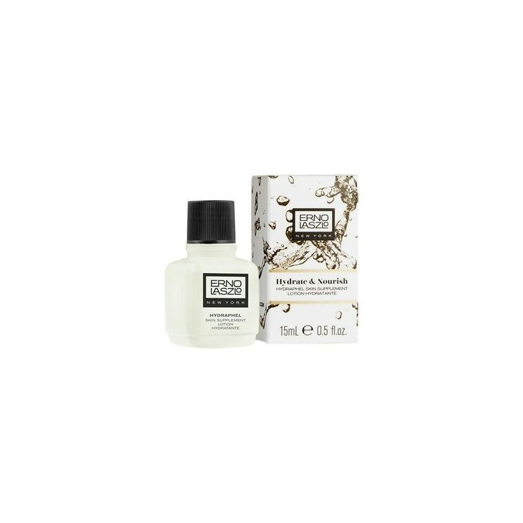 2x Erno Laszlo Hydrate & Nourish Hydraphel Skin Supplement Lotion Toner 15ml