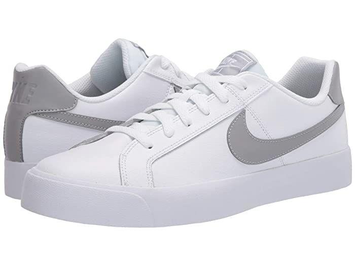 Nike Court Royale AC (White/Light Smoke Grey) Men's Classic Shoes