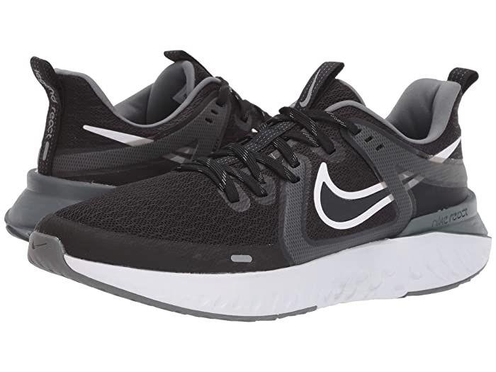 Nike Legend React 2 (Black/White/Cool Grey/Metallic Cool Grey) Men's Shoes