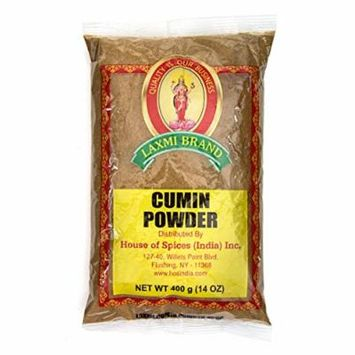 Laxmi All-Natural Dried Cumin Powder - 14 Ounce
