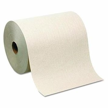 Georgia-Pacific Sofpull 26480 Hardwound Roll Paper Towel, Nonperforated, 7.87'' X 1000' (Case of 6 Rolls)