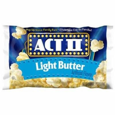 Act II Popcorn, 2.75 oz Microwavable Bags, Multiple Options and Quantities Available