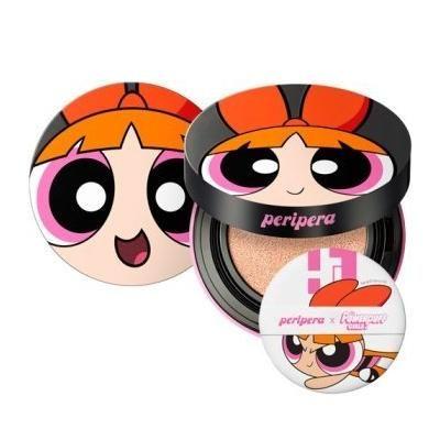 PERIPERA INK lasting Pink Cushion (Powerpuff Girls) SPF 50+ PA +++ 14g (Pink Ivory)