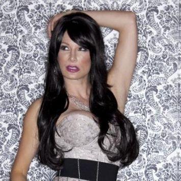 Blush Carmen Fantasy Style Synthetic Wig - Onyx