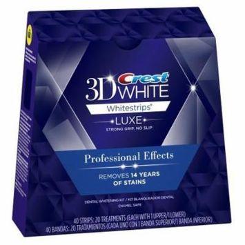 Crest 3D Whitestrips Professional Whitening Kit (20 Treatments)(3 boxes)