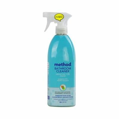 Method Products 28 Ounce Tub And Tile Spray - Eucalyptus, Case Of 8