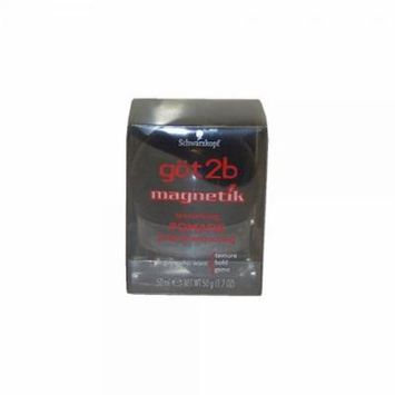 Magnetik Texturizing Pomade By Got2b, 1.7 Ounce