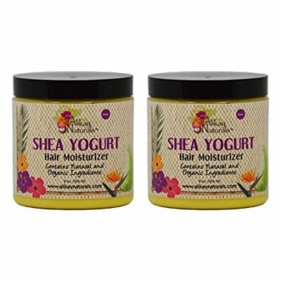 "Alikay Naturals Shea Yogurt Hair Moisturizer 8oz ""Pack of 2"""