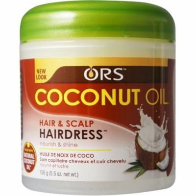 6 Pack - ORS Coconut Oil Hairdress 5.5 oz