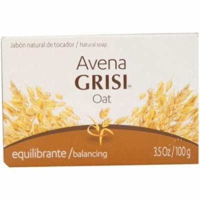 Avena Grisi Natural Oat Soap Balancing, 3.5 oz