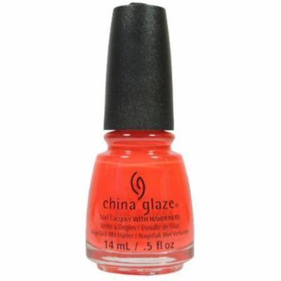 China Glaze Nail Polish, Pool Party, 0.5 oz