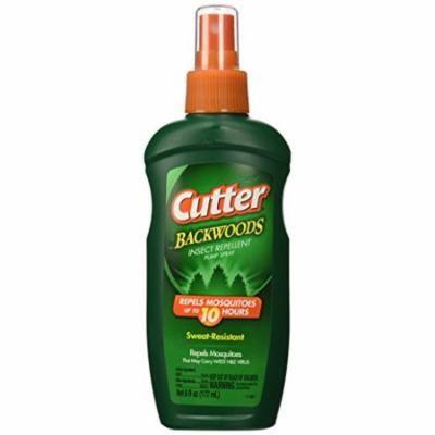 Cutter Backwoods Insect Repellent 25-Percent DEET Pump Spray 6 Oz Each