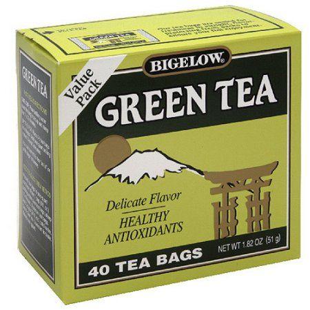 Bigelow Green Tea, 40ct (Pack of 6)