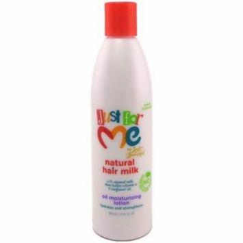 2 Pack - Just for Me! Hair Milk Oil Moisturizing Lotion 10 oz