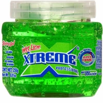 4 Pack - Xtreme Professional Wet Line Styling Gel, Extra Hold Green 8.8 oz