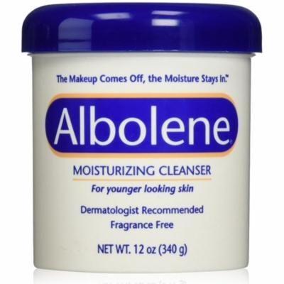 6 Pack - Albolene Moisturizing Cleanser Fragrance Free 12 oz