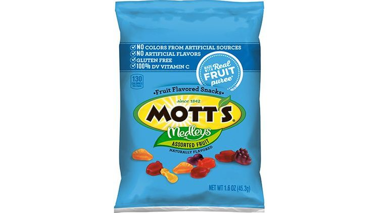 Mott's® Medleys Gluten Free Fruit Snacks Assorted Fruit (144 ct) 1.6 oz