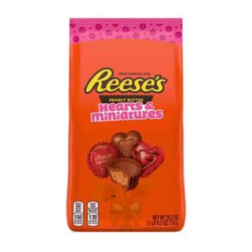 Reese's Peanut Butter Cups Miniatures & Hearts, 25.2 OZ