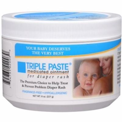 6 Pack - Triple Paste Medicated Ointment 8 oz