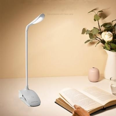 Ediors Flexible Portable Clip Booklight Travel Book Reading Lamp Led Light
