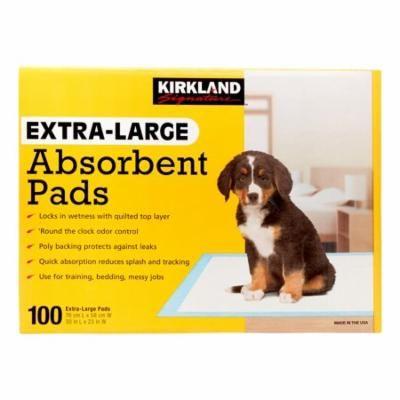 Kirkland Signature Absorbent Training Pads, Extra-Large x 100