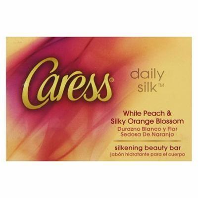 Caress Moisturizing Body Bar Natural Silk - 4 Oz