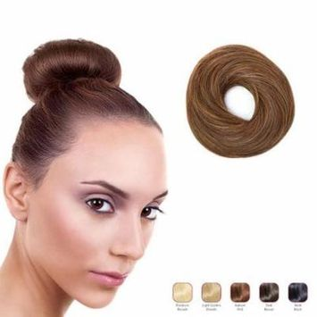 Buy 2 Hollywood Hair Classic Bun and get 1 Free - Auburn Red