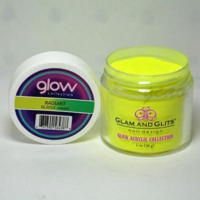 Glam and Glits GLOW ACRYLIC Glow in the Dark Nail Powder 2014 - RADIANT