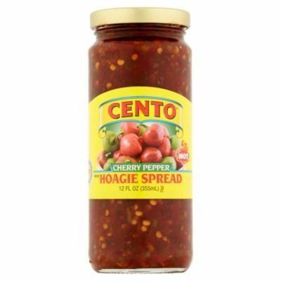 Cento Hot Cherry Pepper Diced Hoagie Spread, 12 fl oz, 6 pack