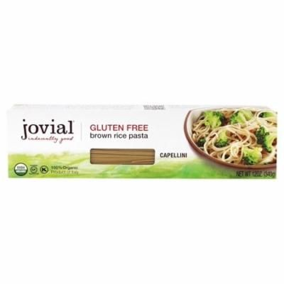 Jovial Foods - Organic Gluten Free Capellini Brown Rice Pasta - 12 oz(pack of 12)