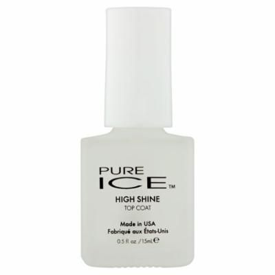 Pure Ice 1201 High Shine Top Coat Nail Polish, 0.5 fl oz