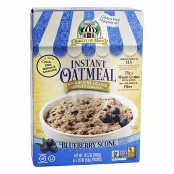 Bakery On Main - Instant Oatmeal Blueberry Scone Flavored - 10.5 oz(pack of 12)
