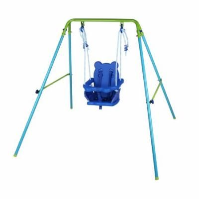 Folding Toddler Baby Swing With Seat Kids Best Gift Garden Yard Play Toy Outdoor