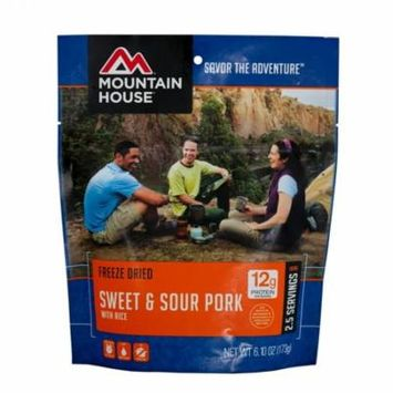 Mountain House - (6 Pack) Sweet & Sour Pork with Rice Main Entree Pouch