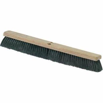CFS 3621923603 36 in. Floor Push Sweep Harwood Broom, Medium - Black