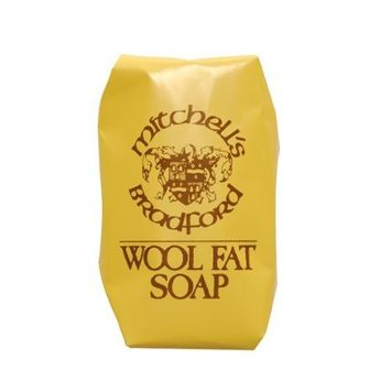 Mitchell's Wool Fat Soap, Large 150g (5.5oz Approx), Pack of 3