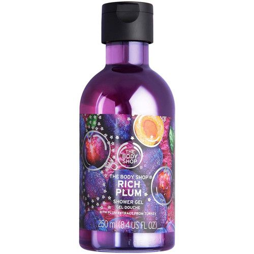 The Body Shop Online Only Rich Plum Shower Gel