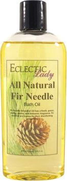 Eclectic Lady All Natural Fir Needle Bath Oil, 4 oz
