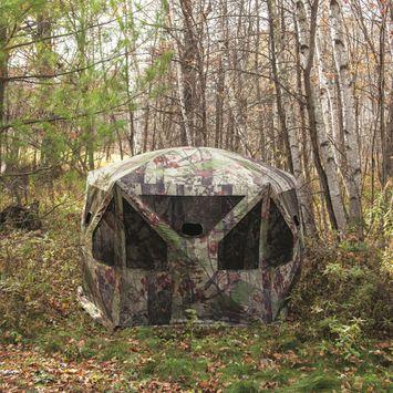 Barronett Blinds Pentagon Blades Camo Large Ground Hunting Blind