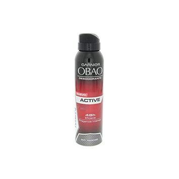 Obao Mens Active Deodorant Spray 150ml - Desodorante Activo Aerosol para Hombre