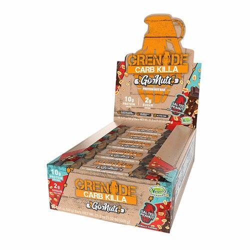 Grenade Carb Killa Go Nuts Vegan Chocolate Nut Bar